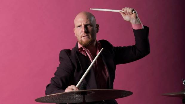 Drummer Tom Scrase is playing and composing three pieces for Footnote Dance's Rebel Pink.