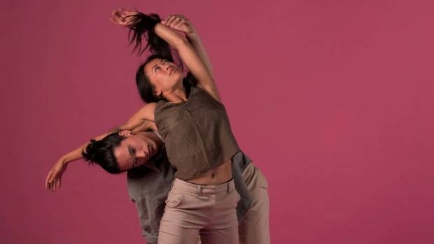 Footnote dancers Anu Khapung and Joshua Faleatua feature in a piece choreographed by Nancy Jo-Wijohn for Rebel Pink.