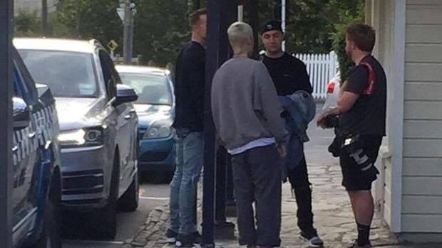 Justin Bieber was seen in Arrowtown, near Queenstown, on Sunday.