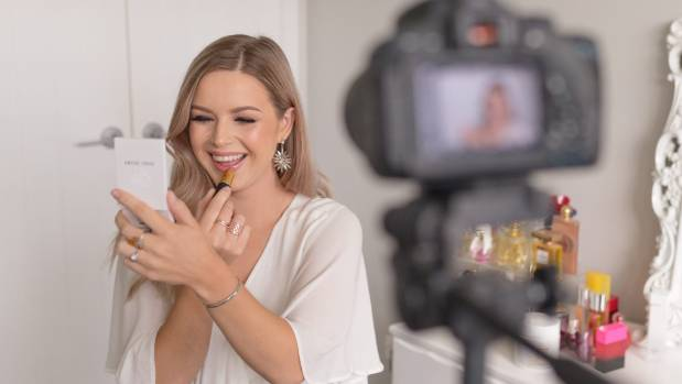 Muggeridge plans to create at least two beauty videos a week.