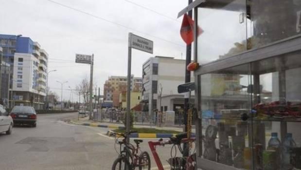 Donald J Trump Boulevard was inaugurated by the mayor of the Albanian city Kamza on Sunday.