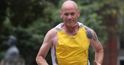 Bob Parr, a former marine and adventurous television producer, has his sights set on the Christchurch half-marathon in June.