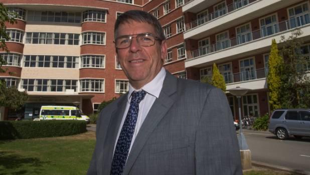 Southern DHB chief medical officer Nigel Millar.