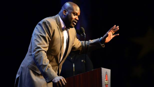 NBA legend Shaquille O'Neal believes the Earth is flat.