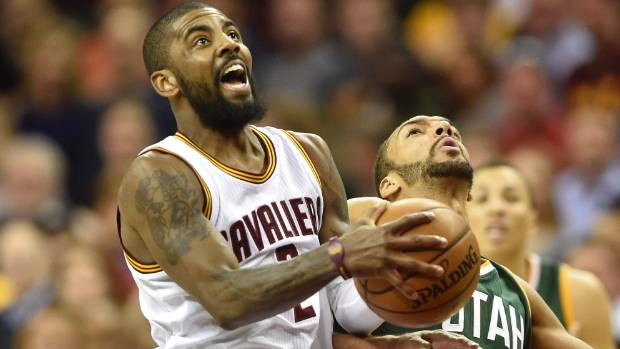 Kyrie Irving, a man born in Australia but playing basketball on the other side of the globe, started talk of the Earth ...