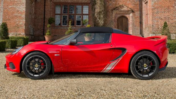 Lotus Elise Sprint 220.