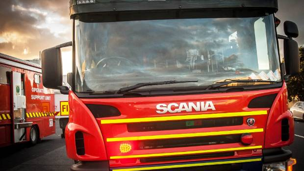 Emergency services were called to a truck fire near the Auckland Airport.