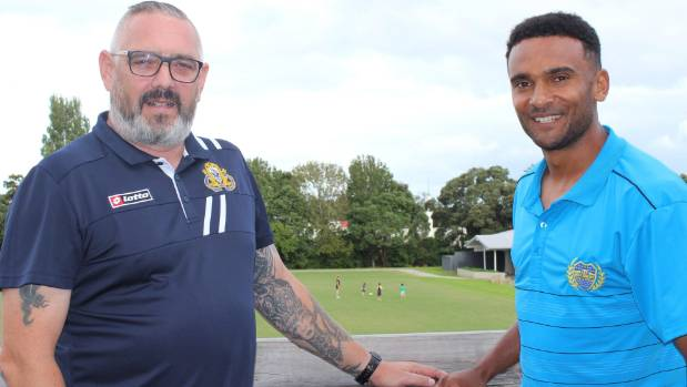 Takapuna AFC first team coach Joe Daw and new director of football Chris Bryson are changing the culture at the club.