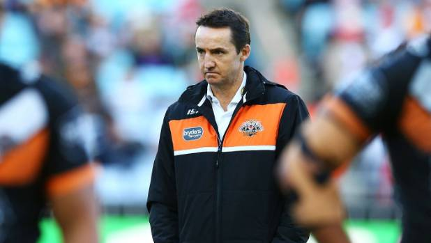 Jason Taylor was sacked after just three rounds at the Wests Tigers this year.