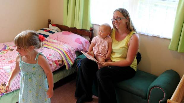 The family is now enjoying their second home in Whangarei, while renting out their first house to a group of flatmates.
