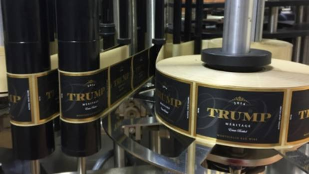 Trump Winery is in the foothills of the Blue Ridge Mountains in central Virginia.