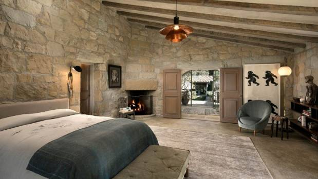 Solid stone walls keep the interior cool right through the heat of the summer.