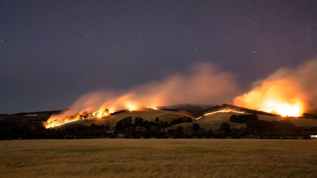 February's Marleys Hill fire, one of two which ripped across the Port Hills in Christchurch, has been confirmed as ...