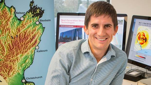 Professor Brendan Bradley has won a Prime Minister's Science Prize for his earthquake-related research.