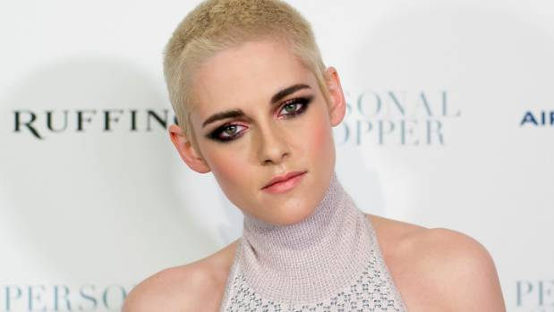 For Kristen Stewart it's all about sultry volume.