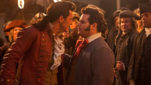 As the rambunctious LeFou, sidekick to the odious Gaston (Luke Evans), Josh Gad unleashes the full blast of his ...