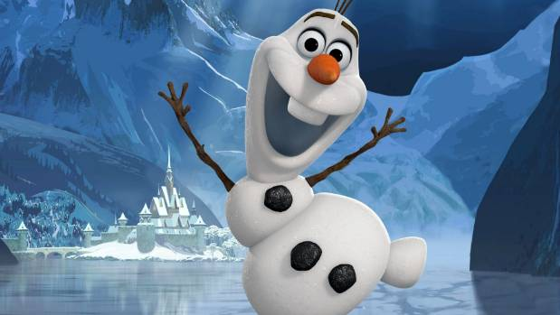Josh Gad provided the voice for Olaf in Frozen.