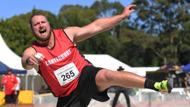 Tom Walsh won his ninth men's shot put title in Hamilton at the weekend.
