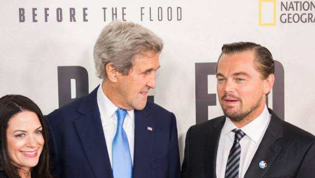 Hollywood A-lister Leonardo Di Caprio fronts National Geographic's documentary Before The Flood.