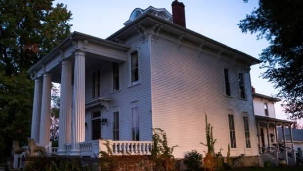 The Pillars Estate, in Albion, New York, is rumored to be haunted. People staying in the house have reported hearing ...