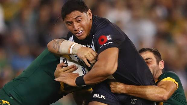 The Warriors have expressed interest in Kiwis wrecking ball Jason Taumalolo.