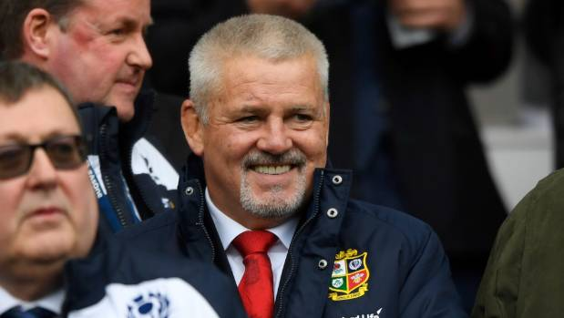 Warren Gatland brings the Lions to New Zealand in less than three months.