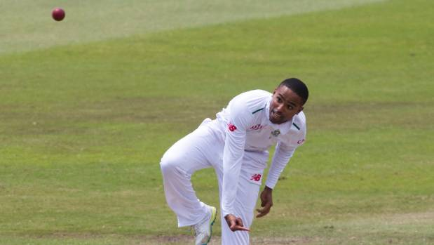 South African spinner Dane Piedt was called up for the third test in Hamilton after the tourists admitted they were ...