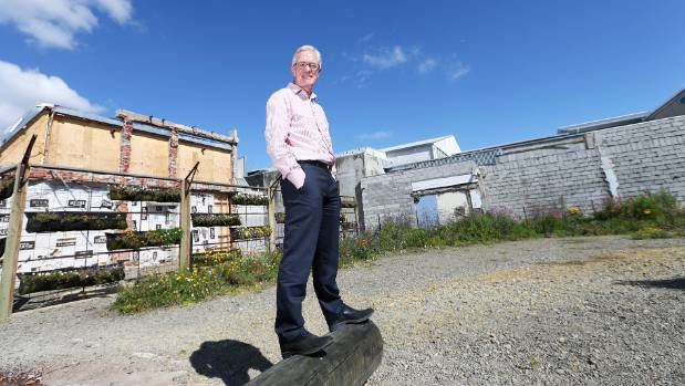 Marlborough District councillor Gerald Hope wants to replace bare concrete walls in central Blenheim with public art.