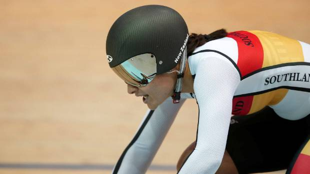 Southland's Natasha Hansen is in the NZ team for the Track Cycling World Championships in Hong Kong.