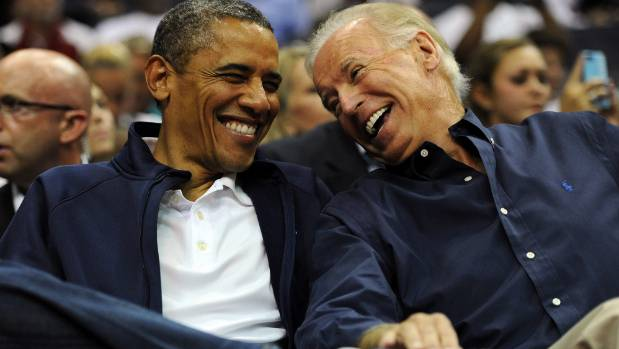US President Barack Obama and Vice President Joe Biden - their time in office is being made into a movie.