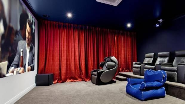 69 Oak Lane boasts an indoor cinema