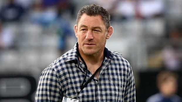 Highlanders assistant coach Mark Hammett.