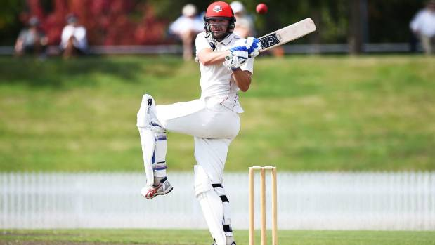 Canterbury batsman Peter Fulton scored his 19th first class century on day one of the Plunket Shield clash with Central ...