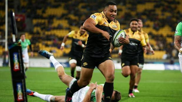 Ngani Laumape has been likened to Ma'a Nonu by Hurricanes coaching staff as he hurtles into All Blacks contention.
