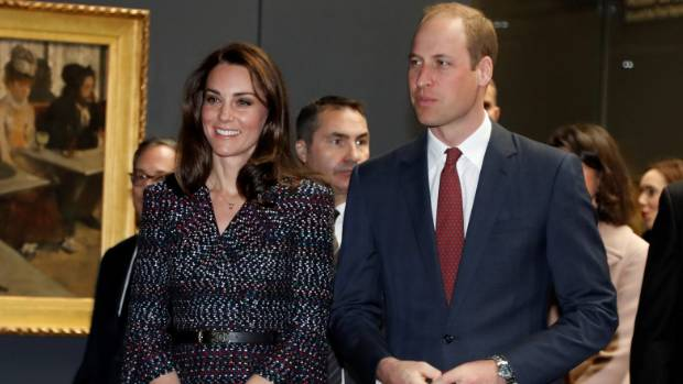 Catherine the Duchess of Cambridge chose to wear Chanel, one of Paris' most famous fashion designers.
