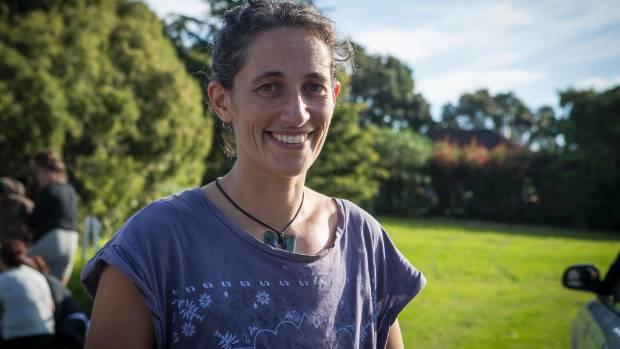 Emily Bailey at Owae Marae, Waitara.
