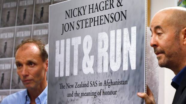 Nicky Hager and Jon Stephenson's book, Hit & Run, accuses the New Zealand Defence Force of a cover up.
