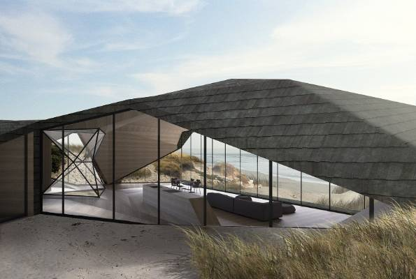 Amazing architecture winning houses from all corners of - The dune house the floating roof ...