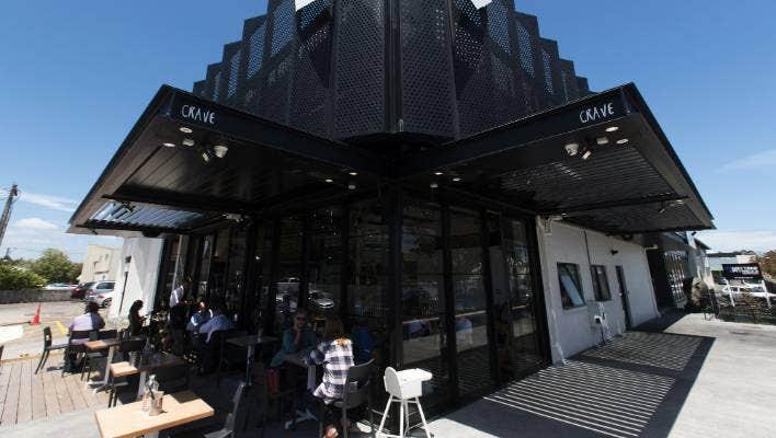 Crave cafe, Morningside, Auckland.