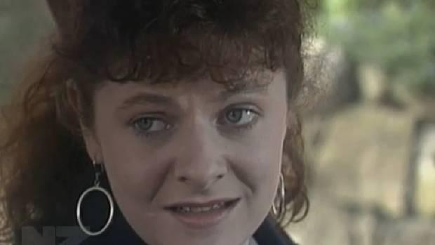 Miranda Harcourt as Gemma in 80s soap Gloss.