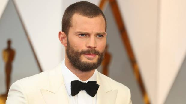 Jamie Dornan shaved it all off for the Oscars.