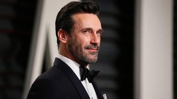 Jon Hamm has toyed with the 'blow-up' look.