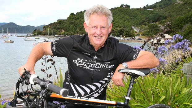 Dr John Forrest says the earthquake has created a unique opportunity to build a cycleway from Picton to Christchurch.