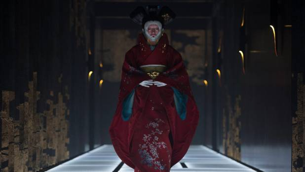 The Red Robe Geisha from Ghost in the Shell was made by Weta Workshop in collaboration with costume designers Kurt & ...