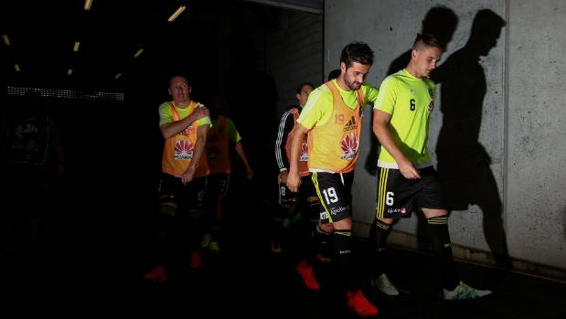 Dylan Fox (right) and Ryan Lowry (left) will get their chance to impress for the Wellington Phoenix while team-mates ...
