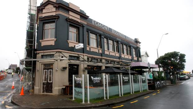 The Hookers building in New Plymouth has been refurbished but retains its old charms.