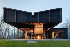 Michigan Lake house by Desai Chia Architecture PC Architizer 2017 finalist 23.3.17