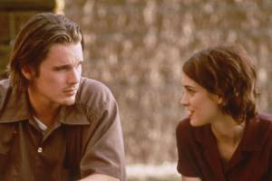 Moody, whiny and sensitive: Ethan Hawke and Winona Ryder played Gen X in love in Reality Bites.
