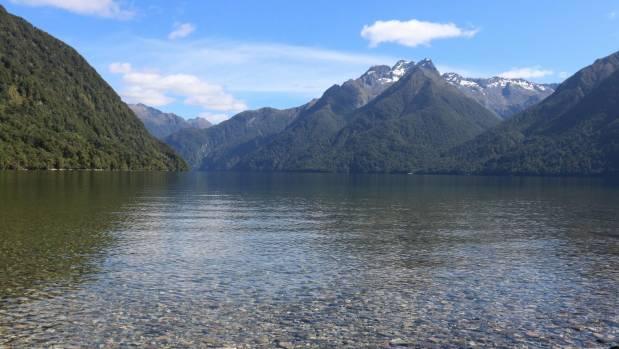 Lake Te Anau is the gateway to Fiordland National Park.
