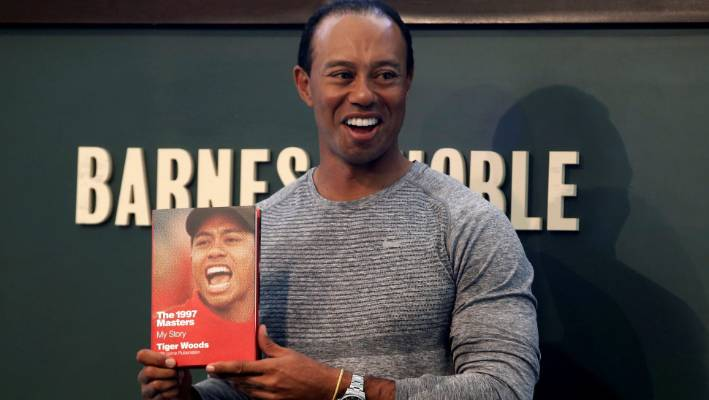 b652719a8ac Tiger Woods has released a book on his Masters breakthrough but all the  conversation has been